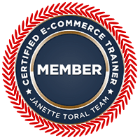 Certified E-Commerce Trainer - Janette Toral