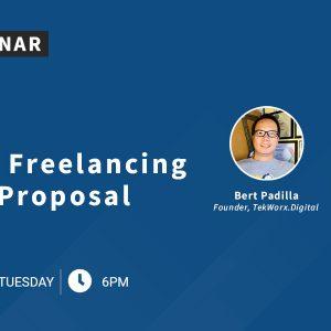 [Live Webinar] Crafting Winning Freelancing Service Proposal